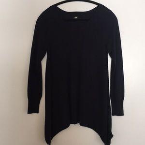 H&M boho navy blue sweater